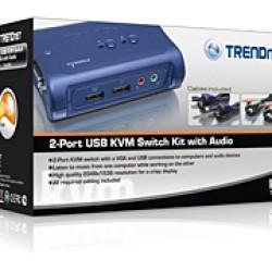 Foto Produk TRENDnet 2-PORT USB KVM Swicth With Audio dari EVERYTHING4U