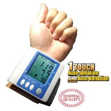 Foto Produk Monitor Tekanan Darah, Wrist Type, 99 Memories & 1 Touch Automatic dari Wellness