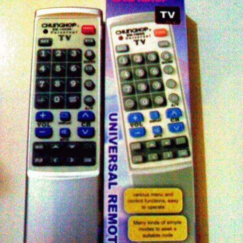 Foto Produk REMOTE TV UNIVERSAL <SET CODE> dari Saudara Jaya