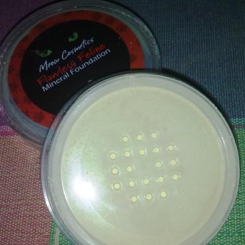 Foto Produk MEOW FOUNDATION FLAWLESS FELINE (NAUGHTY ANGORA) dari Amethys Online Shopping