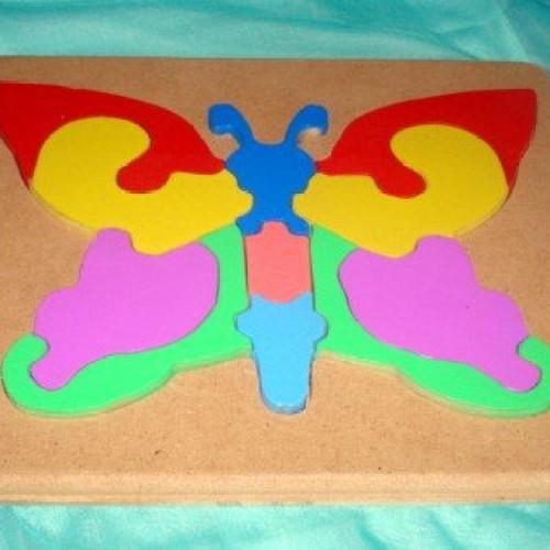 Foto Produk Puzzle Kupu-kupu dari Robani Edutoys