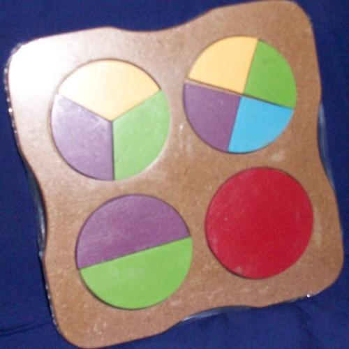 Foto Produk Puzzle Bagian Lingkaran dari Robani Edutoys