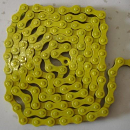 Foto Produk Chain / Rantai Single Speed Yellow dari Bike Market