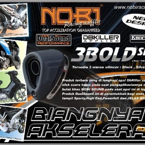 Foto Produk Knalpot Racing NOB1 3bold type Motorsport dari Jaya Motor Cikupa