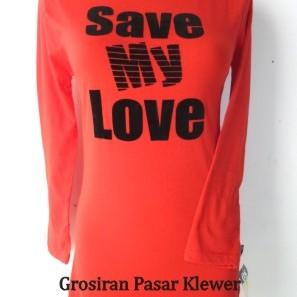 Foto Produk Kaos Cewek 02 dari GROSIRAN PASAR KLEWER