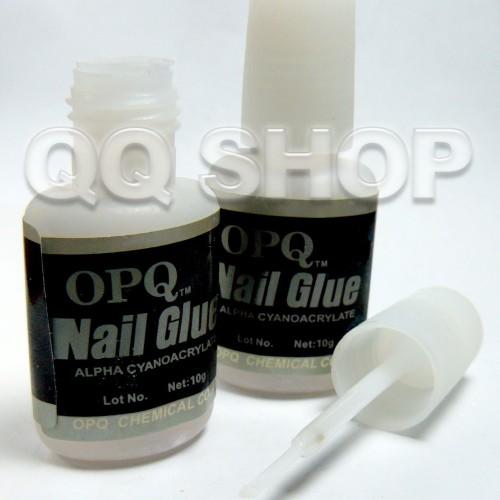 Foto Produk Lem Kuku 10gr Plus Kuas dari QQ