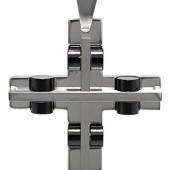Foto Produk kalung salib Black Wheel Cross dari KLIKHADIAH