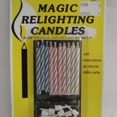 "Foto Produk Lilin Ulang Tahun ""Magic Relighting Candles"" 10 Pcs dari Inwen Shoppe"