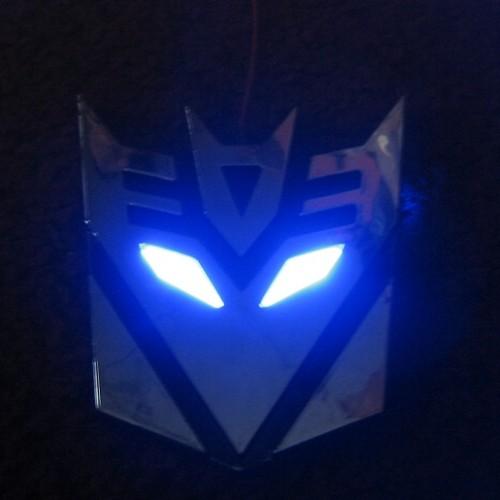 Foto Produk Emblem Transformer LED Red Eyes / Blue Eyes dari TasTesTos
