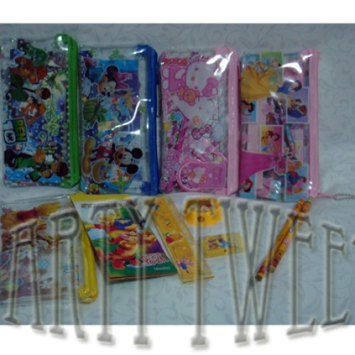 Foto Produk Stationary Set - 7 Items Pouch Style dari Upcoming Party Tweet