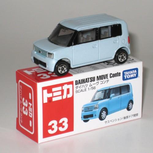Foto Produk #033 Daihatsu Move Conte Light Blue (TTB) dari Tomica Shop