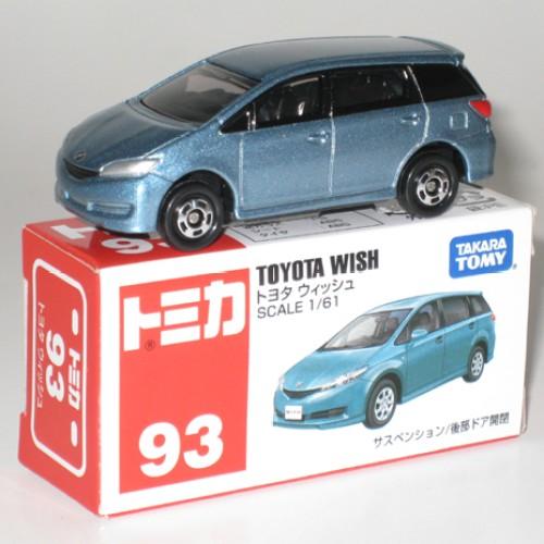 Foto Produk #093 Toyota Wish Light Blue (TTB) - STOK HABIS dari Tomica Shop