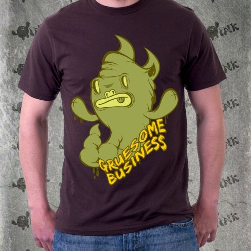 Foto Produk Kaos Limited Edition : Gruesome Business dari Bubble Ink Clothing