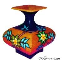 Foto Produk Wooden Flower Vase dari Kasunanan.Com
