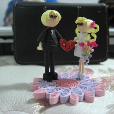 Foto Produk miniatur 'wed couple' dari rlsdn-3298