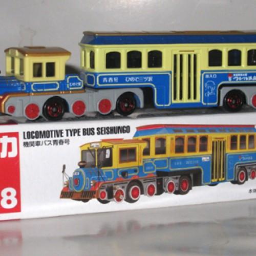 Foto Produk #138 Locomotive Type Bus Seishungo (TTB) - STOK HABIS dari Tomica Shop