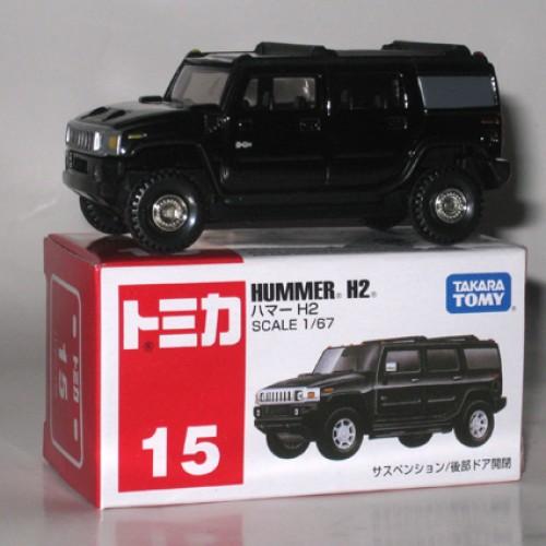 Foto Produk #015 Hummer H2 Black (TTB)  dari Tomica Shop