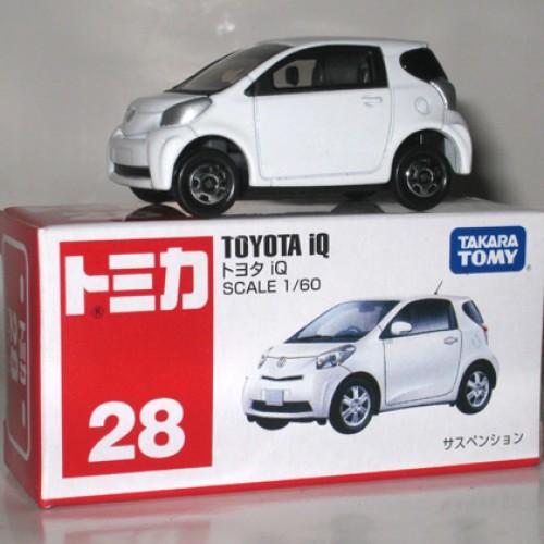 Foto Produk #028 Toyota IQ White (TTB) - STOK HABIS dari Tomica Shop
