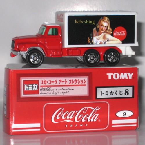 Foto Produk Tomica Kuji 08 Coca Cola #009 Nissan Diesel Truck - STOK HABIS dari Tomica Shop