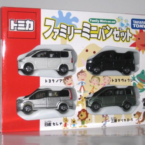 Foto Produk Giftset - Family Mini Van Set dari Tomica Shop