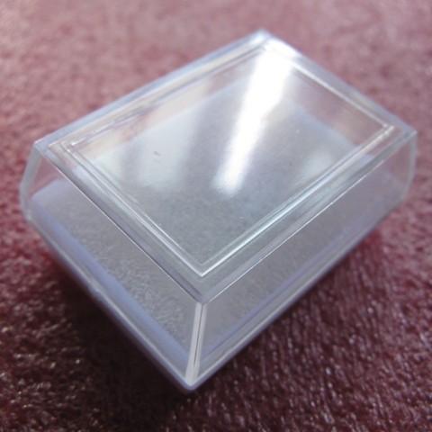 Foto Produk Kotak Perhiasan Plastik 5 x 4 x 2,2 dari Pondok Belanja Yogya