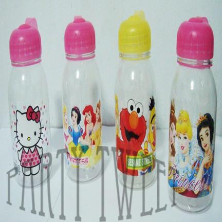 Foto Produk Drinking Bottle - Botol Minum Karakter Bening dari Upcoming Party Tweet