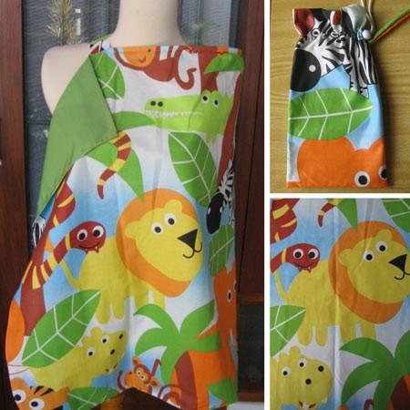 Foto Produk Momy Cozy Nursing Cover Animal-03 dari Chenoel Shop