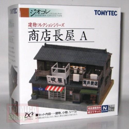 Foto Produk Tomytec Diorama T032 Tenement Shop A - STOK HABIS dari Tomica Shop