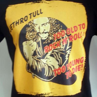 Foto Produk Jethro Tull - Too old To Rocknrol dari T-Shirt By Big Bang