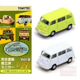Foto Produk Tomytec Car Collection Vol.09 #08 Subaru Sambar Green & White - STOK HABIS dari Tomica Shop