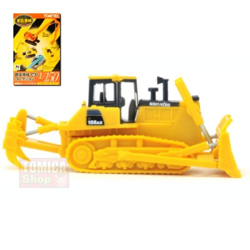 Foto Produk Tomytec Construction Collection Vol.01 #03 Komatsu D155AX-6 Bulldozer w/ Fork dari Tomica Shop
