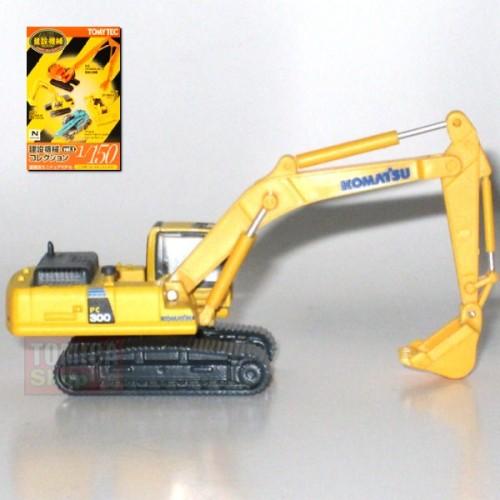 "Foto Produk Tomytec Construction Collection Vol.01 #02 Komatsu PC300-8 Excavator ""Komatsu"" - STOK HABIS dari Tomica Shop"
