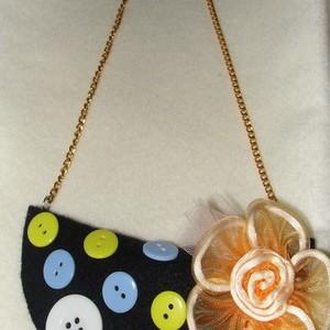 Foto Produk Black Flanel Necklace dari Loud Fairy