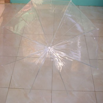 Foto Produk Payung Tongkat Transparan Import China dari MD'C COLLECTION