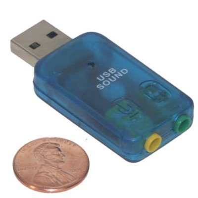 Foto Produk USB SOUND CARD dari Toko Komputer Mbah Priok