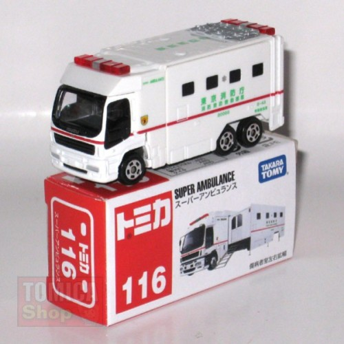 Foto Produk #116 Super Ambulance (TTB) - STOK HABIS dari Tomica Shop