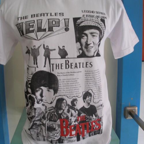 Foto Produk The Beatles - Help dari T-Shirt By Big Bang