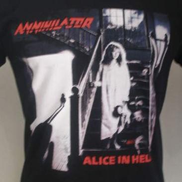 Foto Produk Annihilator - Alice in Hell dari T-Shirt By Big Bang