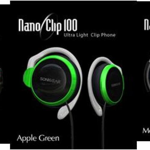 Foto Produk SONIC GEAR Nano Clip 100/200/300 dari GusteeShop