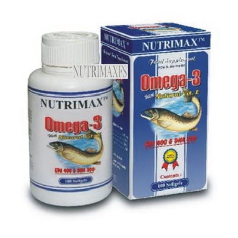 Foto Produk (100) Nutrimax Ultra Omega 3 dari Nutrimax Food Supplement