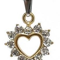 Foto Produk Kalung GoldHeart Diamond dari KLIKHADIAH