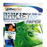 Foto Produk Blueprint Inkjet Paper (BP-IPA4120) - A4, 50 Sheet, 120 gsm, Cast Coating, Extra White, Water Resist dari Dbestcompushop