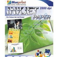 Foto Produk Blueprint Inkjet Paper (BP-IPA3120) - A3, 50 Sheet, 120 Gsm, Cast Coating, Extra White, Water Resist dari Dbestcompushop