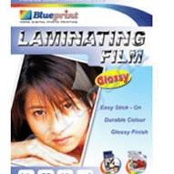Foto Produk Blueprint Laminating Glossy Film (BP-GFA455)- A4, 20 Sheet, 55um, Laminating, Glossy dari Dbestcompushop