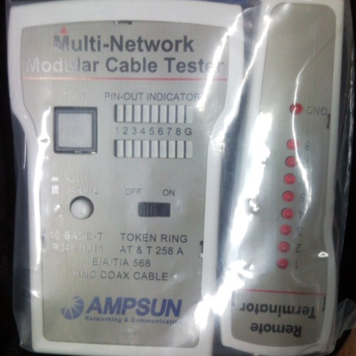 Foto Produk Network Lan Cable Tester AMPSUN TCT-141 dari EVERYTHING4U