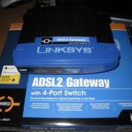 Foto Produk MODEM ADSL LINKSYS AG241(2+ Gateway with 4 Port Switch) dari JEPEG.NET