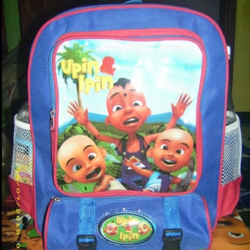 Foto Produk TAS GEMBLOK / BACK PACK IPIN UPIN dari FaUstA KiOkO Kids Shop