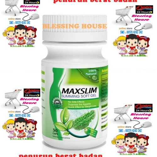 Foto Produk Maxslim Slimming Capsules dari Blessing House