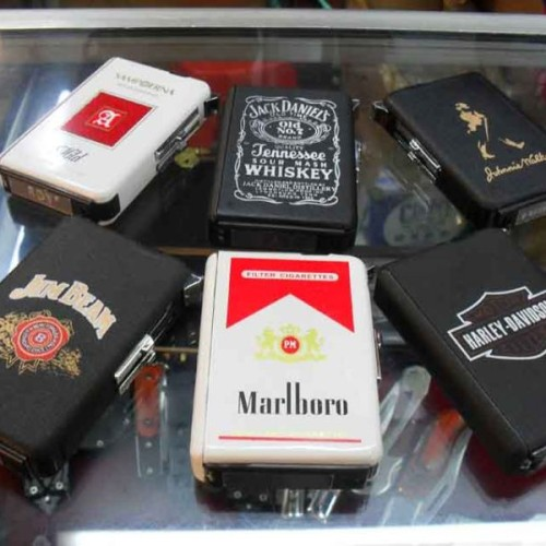 Foto Produk Case Cigarette+Butane Jet Torch Lighter 0124 dari Mavi_Shop