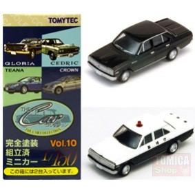 Foto Produk Tomytec Car Collection Vol.10 #06 Nissan Cedric 120 Black & Police - STOK HABIS dari Tomica Shop